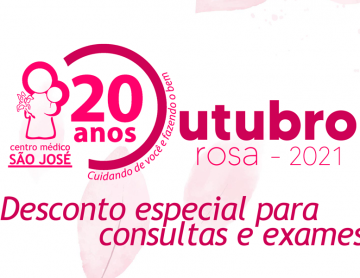 Descontos especiais em exames e consultas durante o Outubro Rosa 2021